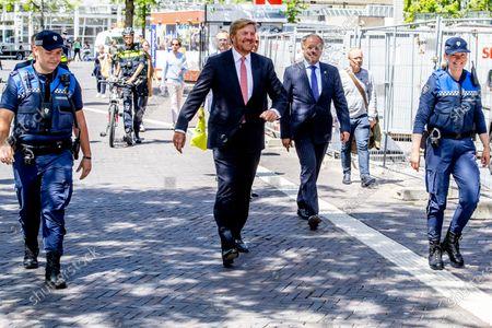 Editorial photo of King Willem-Alexander visit to Leiden, Netherlands - 15 Jun 2020