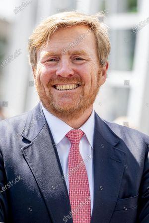 Editorial image of King Willem-Alexander visit to Leiden, Netherlands - 15 Jun 2020