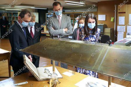Editorial photo of Spanish Royals visit the Museum of Natural Sciences, Madrid, Spain - 15 Jun 2020
