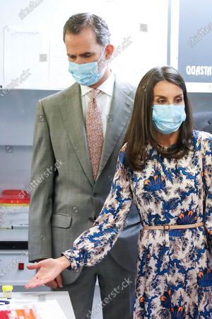 Editorial picture of Spanish Royals visit the Museum of Natural Sciences, Madrid, Spain - 15 Jun 2020
