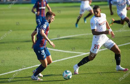 Editorial picture of Levante UD v Sevilla FC, La Liga, Football, Camilo Cano Stadium, Alicante, Spain - 15 Jun 2020