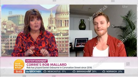 Editorial image of 'Good Morning Britain' TV Show, London, UK - 16 Jun 2020