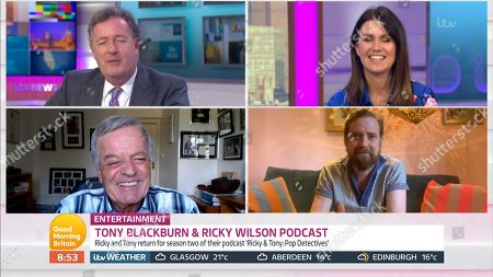 Piers Morgan, Susanna Reid, Tony Blackburn, Ricky Wilson