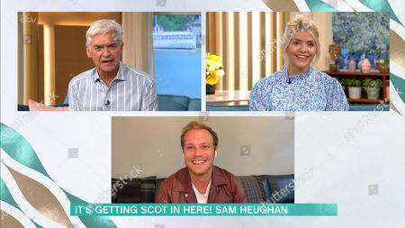Holly Willoughby, Phillip Schofield, Sam Heughan