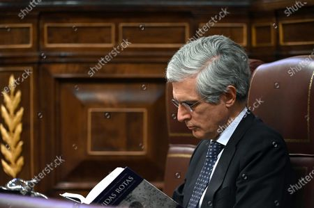 Editorial picture of Spanish Government's plenary session at Lower Chamber, Madrid, Spain - 16 Jun 2020