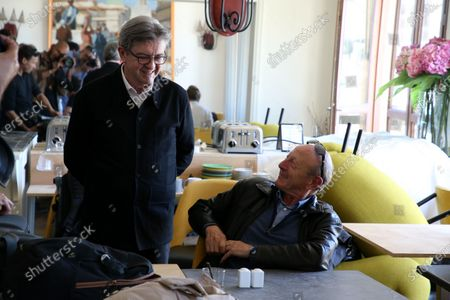 Editorial image of Jean-Luc Melanchon press conference, Marseille, France - 15 Jun 2020
