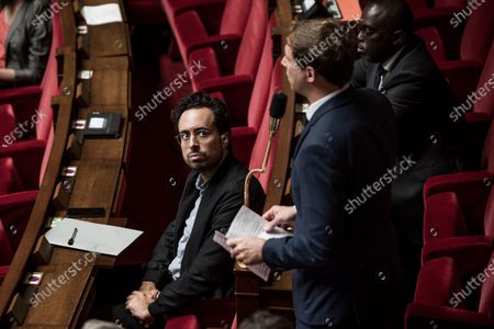 Mounir Mahjoubi, French National Assembly, session of Questions to the Government, Palais Bourbon