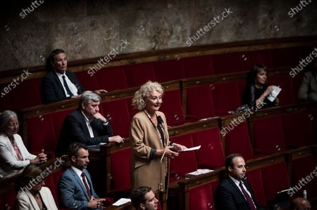 Editorial image of French National Assembly, Paris, France - 16 Jun 2020