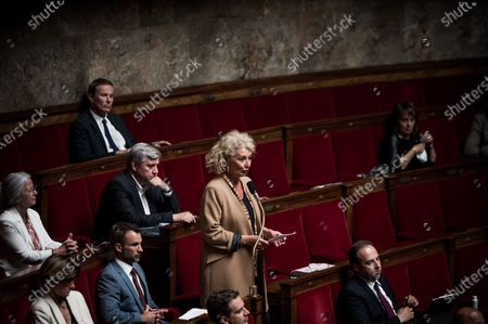 Sophie Auconie, French National Assembly, session of Questions to the Government, Palais Bourbon