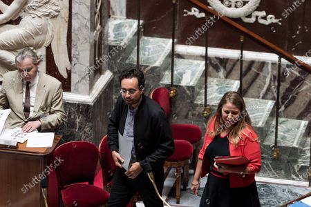 Mounir Mahjoubi, Nadia Hai, French National Assembly, session of Questions to the Government, Palais Bourbon