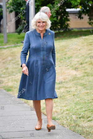 Editorial picture of Prince Charles and Camilla Duchess of Cornwall visit to Gloucestershire Royal Hospital, UK - 16 Jun 2020