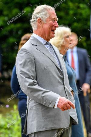 Editorial photo of Prince Charles and Camilla Duchess of Cornwall visit to Gloucestershire Royal Hospital, UK - 16 Jun 2020