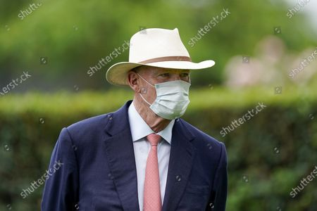 ASCOT, ENGLAND - JUNE 20: John Gosden poses on Day Five of Royal Ascot at Ascot Racecourse on June 20, 2020 in Ascot, England.  (Photo by Alan Crowhurst/Getty Images) supplied by Hugh Routledge.