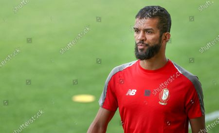 Standard's Mehdi Carcela arrives for the first training session of Belgian first division soccer team Standard de Liege for the upcoming 2020-2021 season, Wednesday 17 June 2020 in Liege.