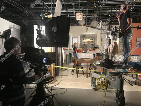 Coronation Street. Back filming after lockdown. Leanne Battersby, as played by Jane Danson and Nick Tilsley, as played by Ben Price