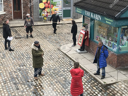 Editorial image of 'Coronation Street' TV Show, Back to filming after Lockdown, UK - Jun 2020