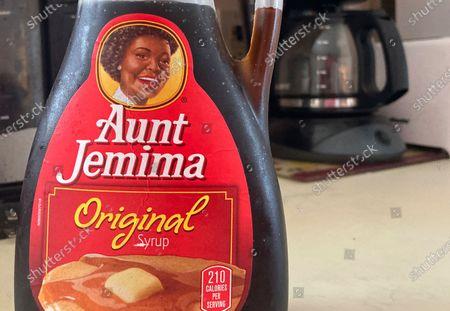 Editorial photo of Aunt Jemima, White Plains, United States - 17 Jun 2020