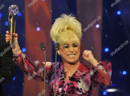 Barbara Windsor. Lifetime Achievement Winner  The British Soap Awards  - 09 May 2009
