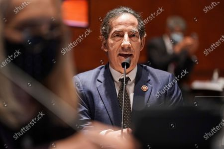 Stock Picture of Rep. Jamie Raskin, D-Md., speaks during a House Judiciary Committee markup of the Justice in Policing Act of 2020 on Capitol Hill in Washington
