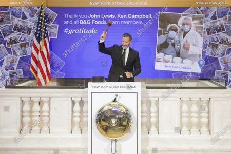 Editorial picture of Stock Exchange Gratitude Campaign, New York, United States - 17 Jun 2020