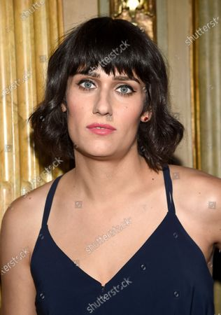 """Teddy Geiger at the premiere for """"The Death and Life of John H. Donovan"""" during the Toronto International Film Festival. Geiger collaborated with Wayne Hector, Nate Mercereau and Ricky Reed on the song """"Focused"""" for John Legend's album """"Bigger Love"""