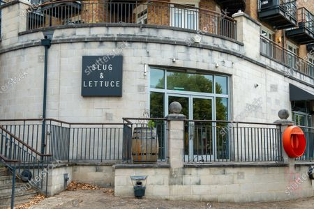 The Slug and Lettuce pub in Staines, Surrey is currently temporarily closed during the Coronavirus Covid-19 Pandemic lockdown. The earliest dates pubs may possibly reopen in England is from 4th July 2020
