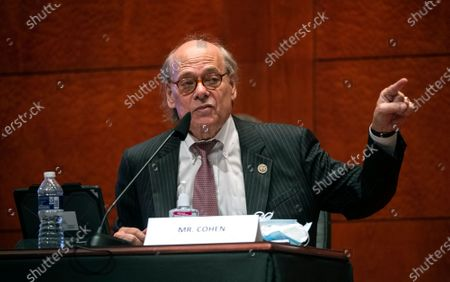"United States Representative Steve Cohen (Democrat of Tennessee) delivers remarks during the US House Judiciary Committee markup of H.R. 7120, the ""George Floyd Justice in Policing Act of 2020,"" on Capitol Hill in Washington, DC. The bill reforms policing in the United States, including provisions to stop police misconduct, and the use of excessive force."