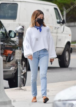 Editorial image of Ashley Tisdale out and about, Los Angeles, California, USA - 17 Jun 2020