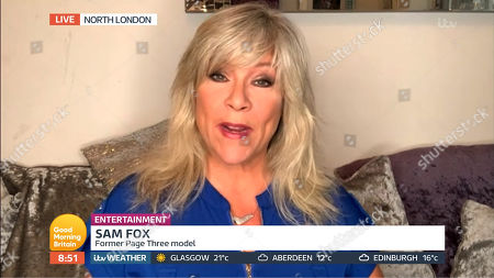 Stock Image of Samantha Fox