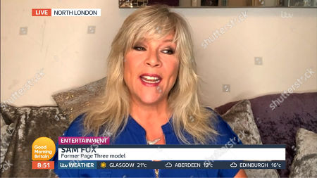 Stock Picture of Samantha Fox
