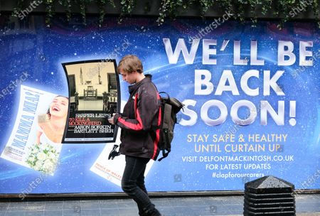 Coronavirus: the UK theatre industry faces financial ruin due to the closures of theatres. Cameron Mackintosh confirms productions won't reopen until 2021