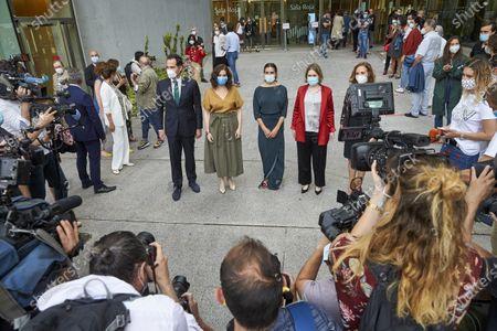 Isabel Diaz Ayuso, Marta Rivera, Blanca Li, Ignacio Aguado