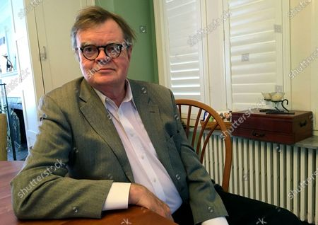Garrison Keillor poses for a photo in Minneapolis. Keillor has two books coming out this fall, his first releases since sexual harassment allegations were made against the author and humorist three years ago