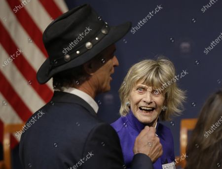 Editorial image of Obit Jean Kennedy Smith, Cambridge, United States - 20 Apr 2017