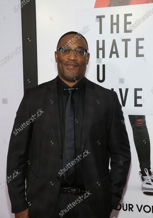 """Director George Tillman Jr. attends a special screening of """"The Hate U Give"""" in New York. When Tillman first came to Hollywood, he found that the kinds of movies he wanted to make were set to modest budget parameters and marketed only to African American communities"""