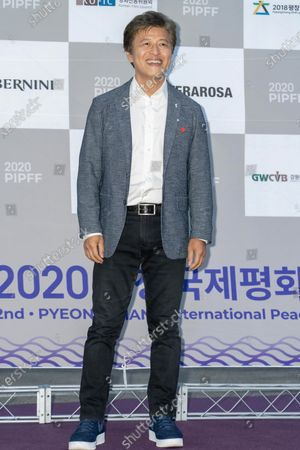 South Korean actor Kwon Hae-hyo during the 2nd PyeongChang International Peace Film Festival (PPIFF) at the Pyeongchang Olympic Plaza in PyeongChang, South Korea, on June 18, 2020.  The Opening Ceremony held amid COVID-19. South Korea reported 59 new COVID-19 confirmed cases.
