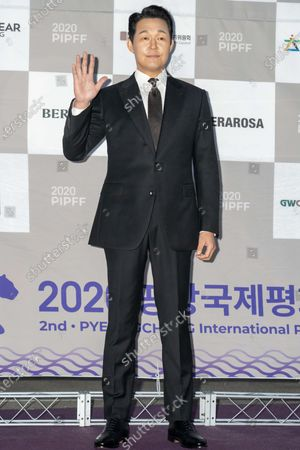 South Korean actor Park Sung-woong during the 2nd PyeongChang International Peace Film Festival (PPIFF) at the Pyeongchang Olympic Plaza in PyeongChang, South Korea, on June 18, 2020.  The Opening Ceremony held amid COVID-19. South Korea reported 59 new COVID-19 confirmed cases.
