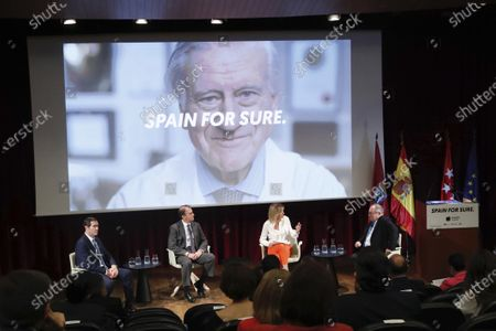 Stock Image of King Felipe VI of Spain, Queen Letizia of Spain the launch of the 'Spain For Sure' campaign at The Prado Museum o