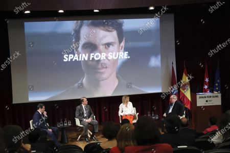 King Felipe VI of Spain, Queen Letizia of Spain the launch of the 'Spain For Sure' campaign at The Prado Museum o