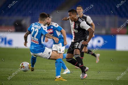 Giovanni Di Lorenzo (Napoli) Alex Sandro Lobo Silva (Juventus)