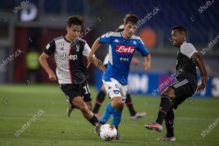 Diego Demme (Napoli) Paulo Exequiel Dybala (Juventus) Alex Sandro Lobo Silva (Juventus)