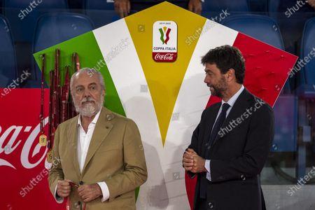 Editorial picture of Napoli v Juventus, Coppa Italia Final, Rome, Italy - 17 Jun 2020