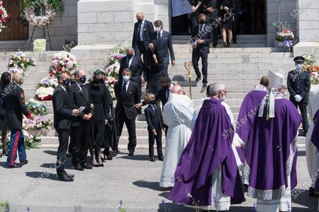 Editorial picture of Elisabeth-Anne de Massy funeral ceremony, Monaco - 17 Jun 2020