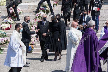 Prince Albert II of Monaco, Princess Charlene of Monaco, Melanie Antoinette de Massy,