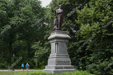 Editorial picture of Controversial historical statues, New York, USA - 18 Jun 2020