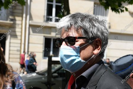 Eric Coquerel (deputy of La France Insoumise) during a protesting of nursing staff on tuesday june 16, 2020. Paris. France.