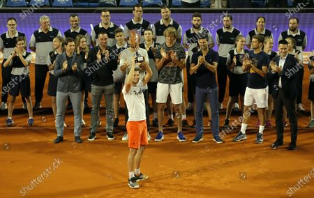 Editorial image of Adria Tour  tennis tournament Day 3, Belgrade, Serbia - 14 Jun 2020
