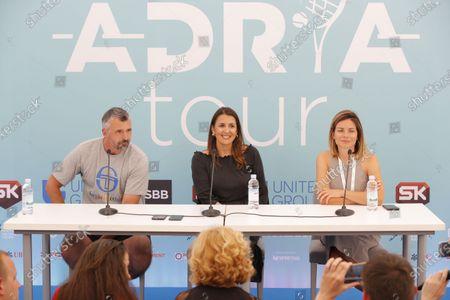Goran Ivanisevic Adria Tour tennis tournament in Belgrade, Serbia 13 Jun 2020. 13.6.2020.