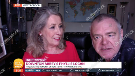 Phyllis Logan and Kevin McNally