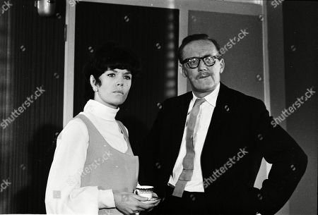 Rosemary Nicols as Annabelle Hurst and Colin Gordon as Doctor Stickney